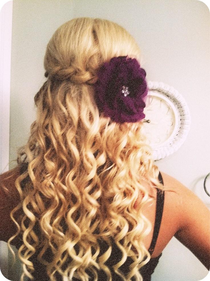 poof+braid+curl | Cute Hairstyles/Colors | Pinterest