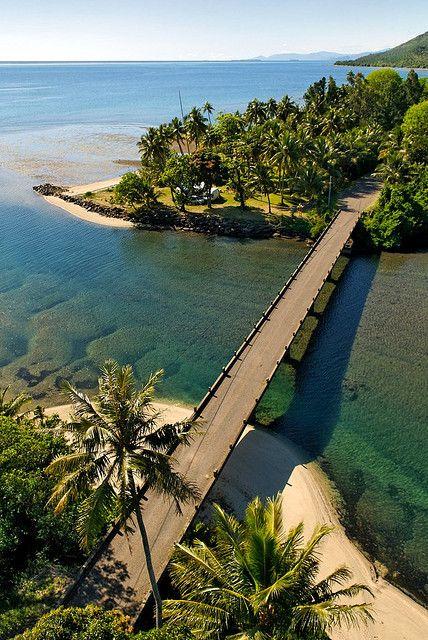 Bridge - New Caledonia.I would totally walk to work every day