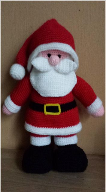Troetels en zo: Patroon kerstman