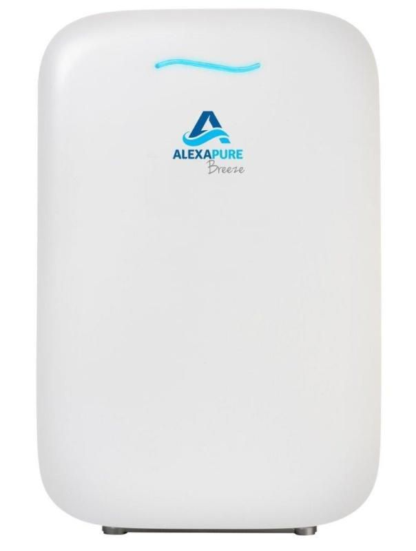 The Alexapure Breeze S 4 Stage Purification Process Removes All