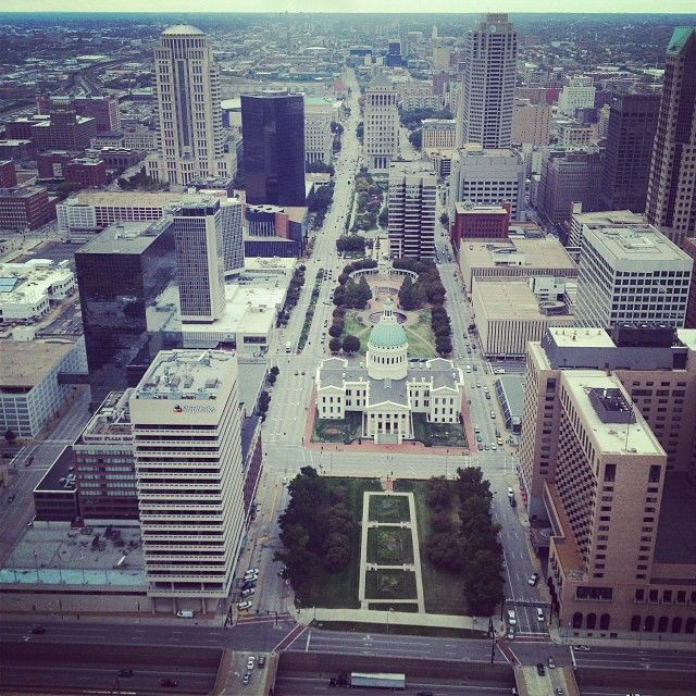 St. Louis Instagram. Credit: makossa1 Taken from the top of the ARCH in St Louis, MO