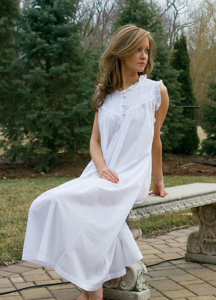 White Nightgown. Prefect for summer. | LACE
