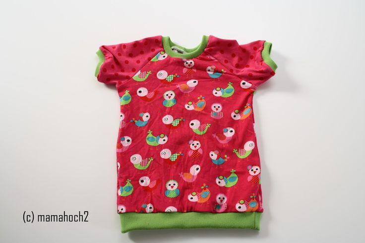Basicschnitt: Raglan T-Shirt - Mamahoch2