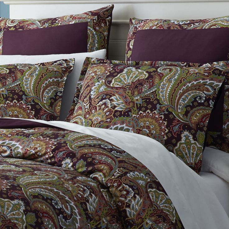 Shangri La Paisley Bedding   Duvet from Pier 1  good with light blue. 10 Best images about pier 1 on Pinterest   Indigo  Cordoba and