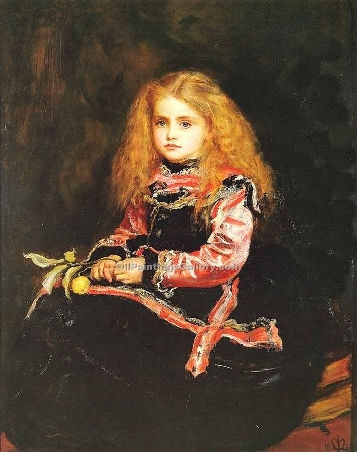 """ A Souvenir of Velasquez"" by John Everett Millais"