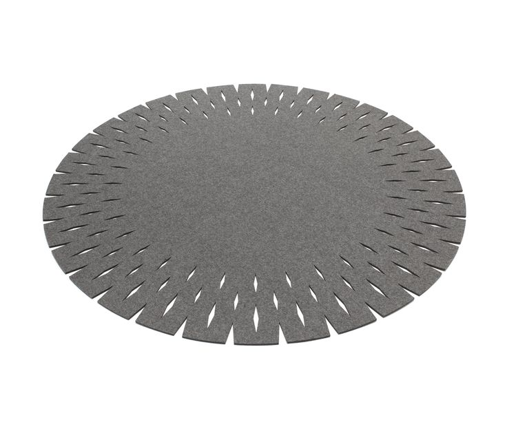 Round Ø 120, 150 or 180 cm Rectangular 72× 200, 144 x 200, or 184 x 240 cm With Grate HEY-SIGN starts a new design which gets realised in placemats,..
