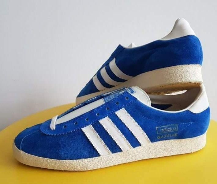 adidas Gazelle Originals Men's Lifestyle Retro Sneaker Blue