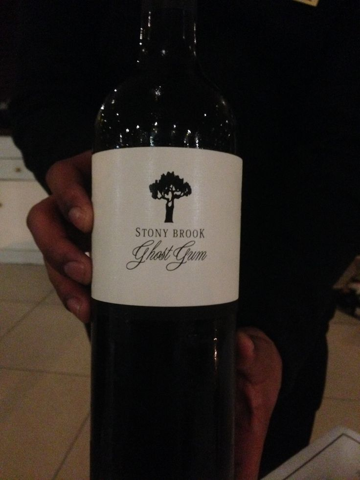 Stony Brook Ghost Gum Cabernet Sauvignon. The label doesn't reveal its secrets @ The Peninsula Hotel