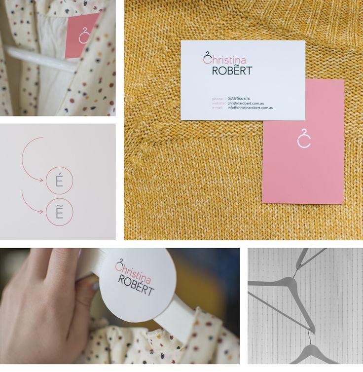 Логотип и фирменный стиль для дизайнера-стилистка из Австралии Christina Robert (Фирменный стиль) - фри-лансер YD Studio [olegagafonof].