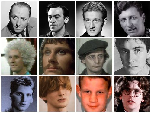 The (young) Doctors. Look at 5 and 6!! And Matt!!! And David Tennant, who is always foxy at any age.