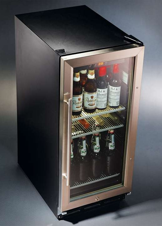 Man Cave Bar Fridge : When chilled below freezing beer tastes better and stays