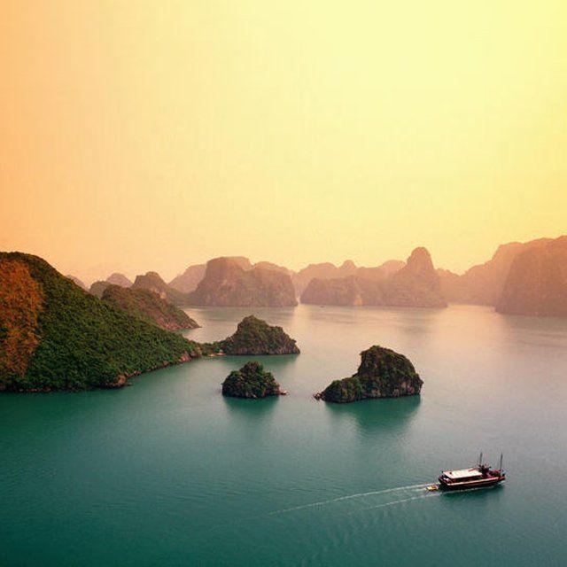Fancy - Ha Long Bay @ Vietnam. http://fancy.com/things/138075606716777535/Ha-Long-Bay-%40-Vietnam