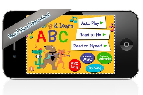 FREE app May 8th (reg 2.99) - Sing your way through the alphabet! The new Wee Sing & Learn ABC app combines original music, animated animals, musical instruments from A to Z