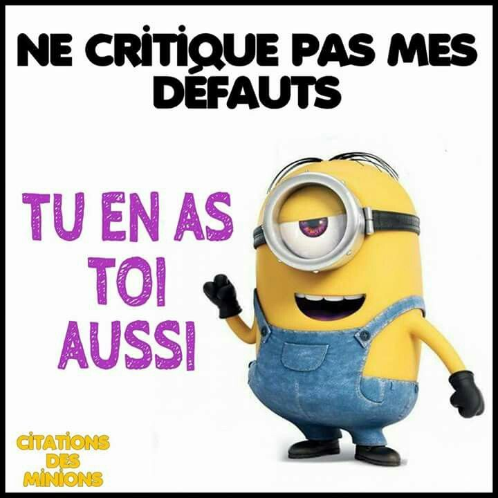 24 best images about citations des minions on pinterest tes gym and d. Black Bedroom Furniture Sets. Home Design Ideas