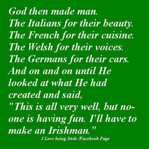Lucky to be Irish!