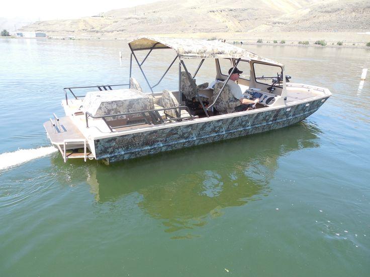 Phantom Jet Boat on Atomm Table
