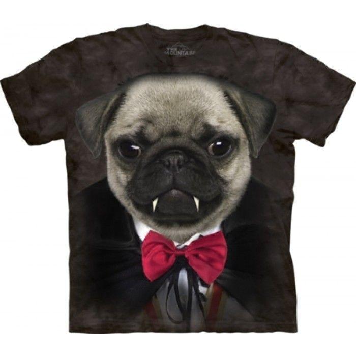 Tricouri The Mountain – Tricou Vampire Pug