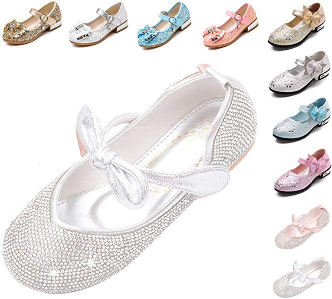 55e2496be8d9c Amazon.com   Kikiz Little Girl's Princess Dress Shoes 11.5 M US ...