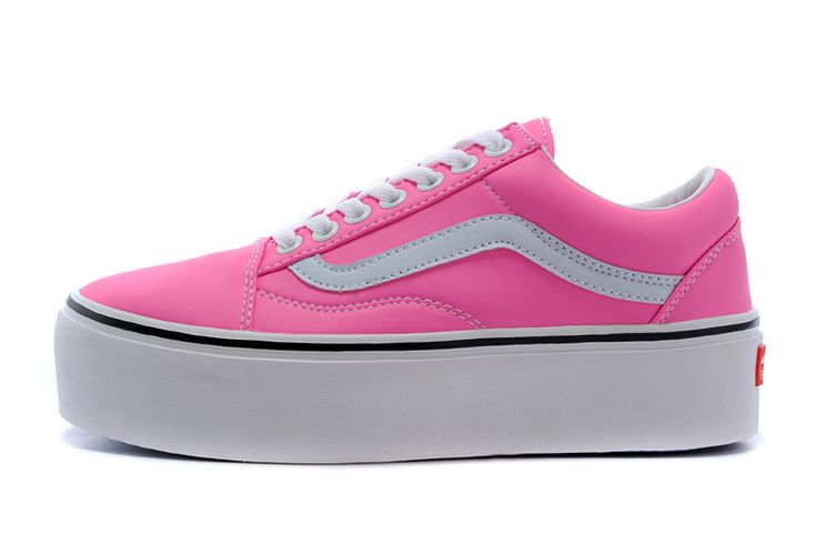 2015 VANS Old Skool Platform Low SHOES Pink [VN-0VOKC7O V096] - $66.95 : cheap vans shoes for men, buy vans skate shoes women online sale