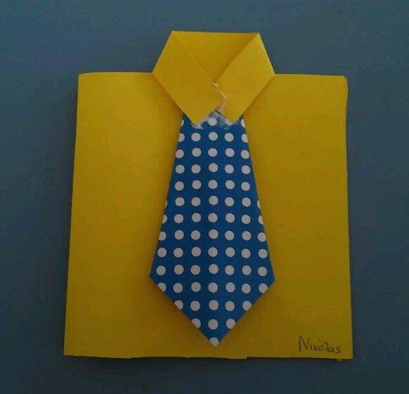 Καρτα-πουκαμισο για τη γιορτη του πατερα