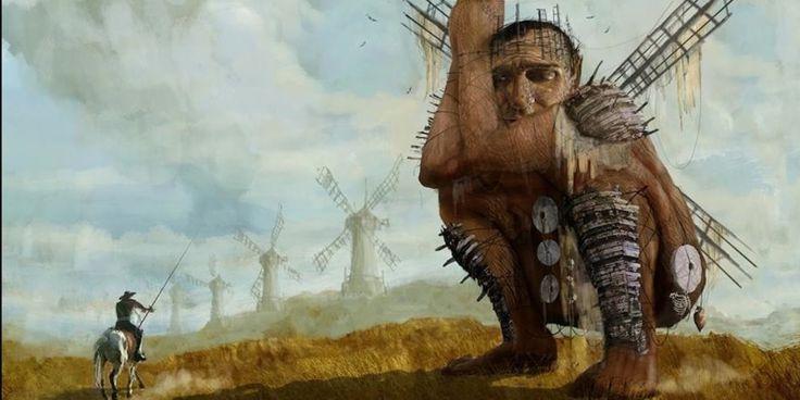 """John Hurt, Adrián Guerra y Terry Gilliam: los """"locos"""" detrás de «The man who killed Don Quixote»"""