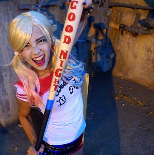 Harley Quinn Costume! #suicidesquad #harleyquinn #halloweencostume #halloweenideas