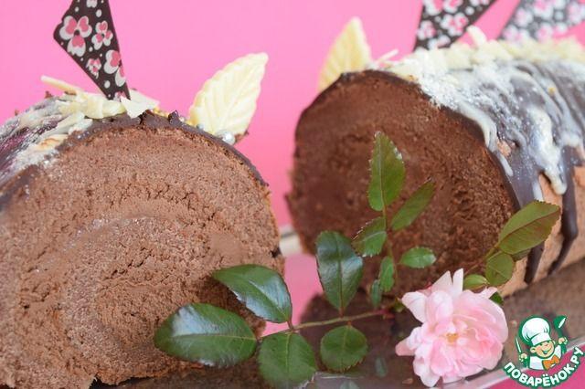 Шоколадный рулет на пудинге ингредиенты