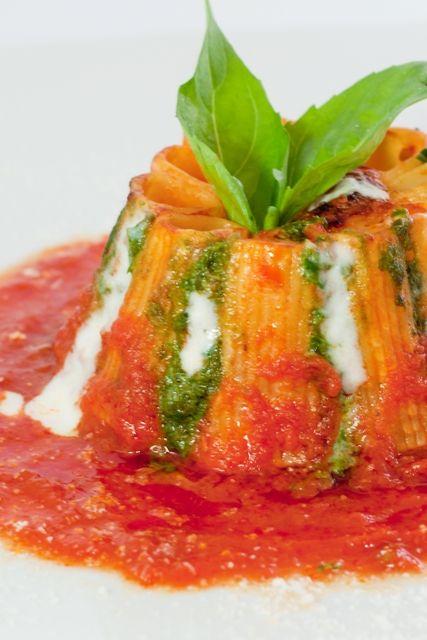 Appunti di cucina di Rimmel: Il vesuvio di rigatoni di Alfonso Iaccarino