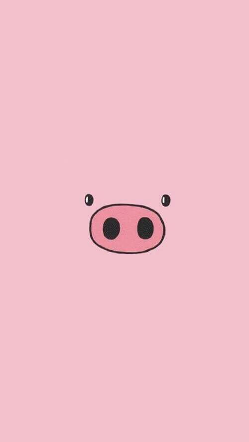 backgrounds, celular, cute, fondos, pig, pink, wallpapers