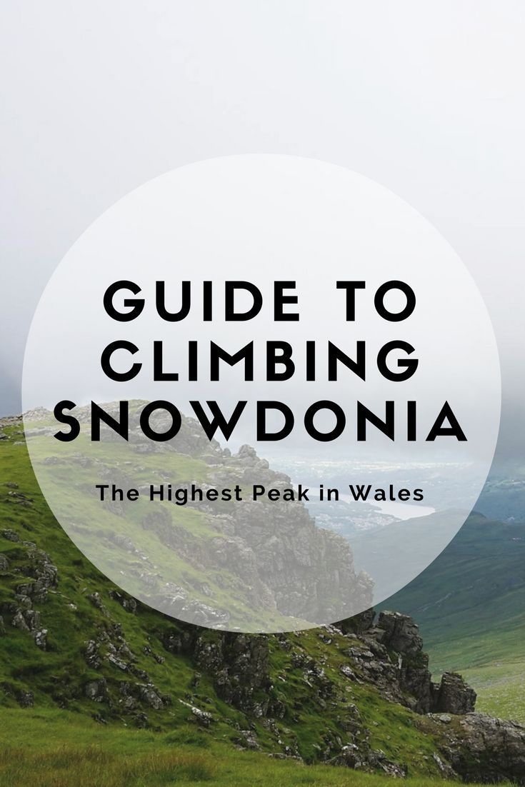 Guide to Climbing Snowdonia: The Highest Peak in Wlaes | Inspired By Maps