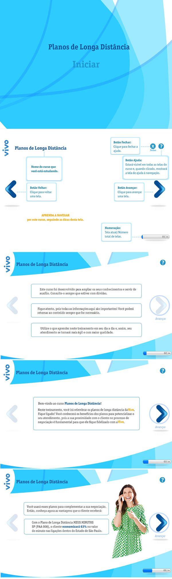 E-learning   Vivo Longa Distância on Behance