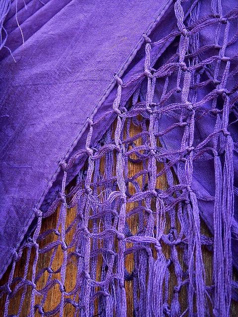 Color Morado - Purple!!! purple knots