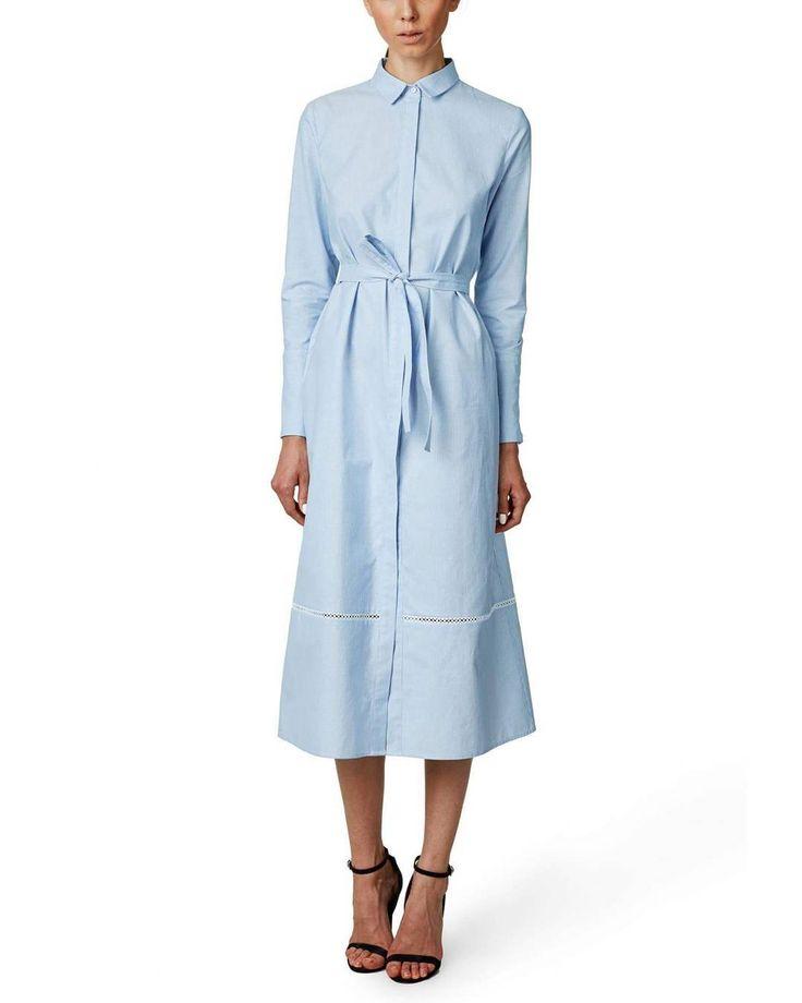 HAZEL cotton dress. Available at Maison Raquette.
