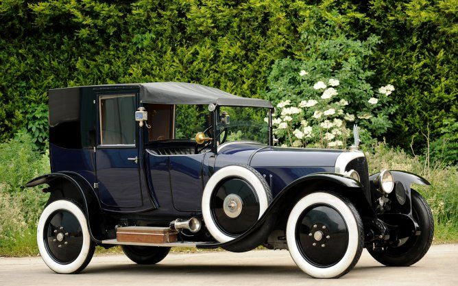 Voisin C001 Presidential Coupe - 1921