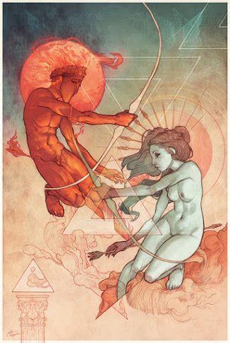 Apolo & Artemis -- Jalón de Aquiles