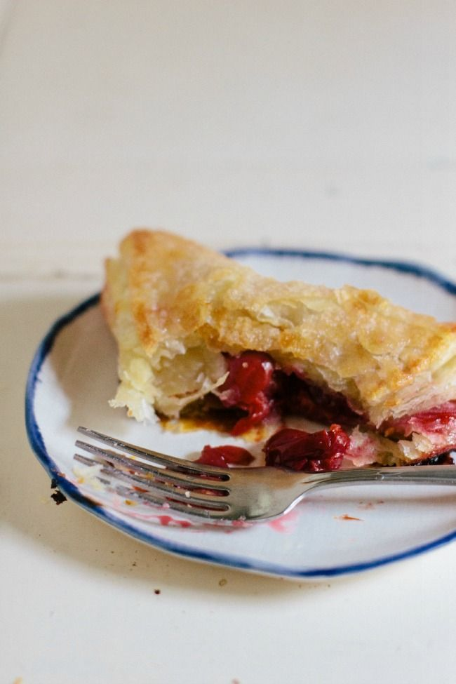 sour cherry turnovers