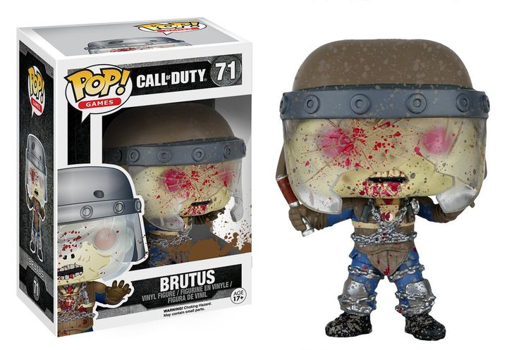 Funko Pop Games: Call of Duty – Brutus Vinyl Figure