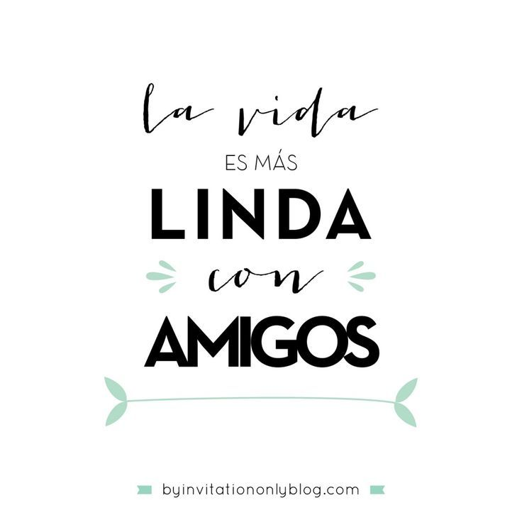 By Invitation Only | {inspirational Monday} Ideas para celebrar el Dia del Amigo | http://byinvitationonlyblog.com: