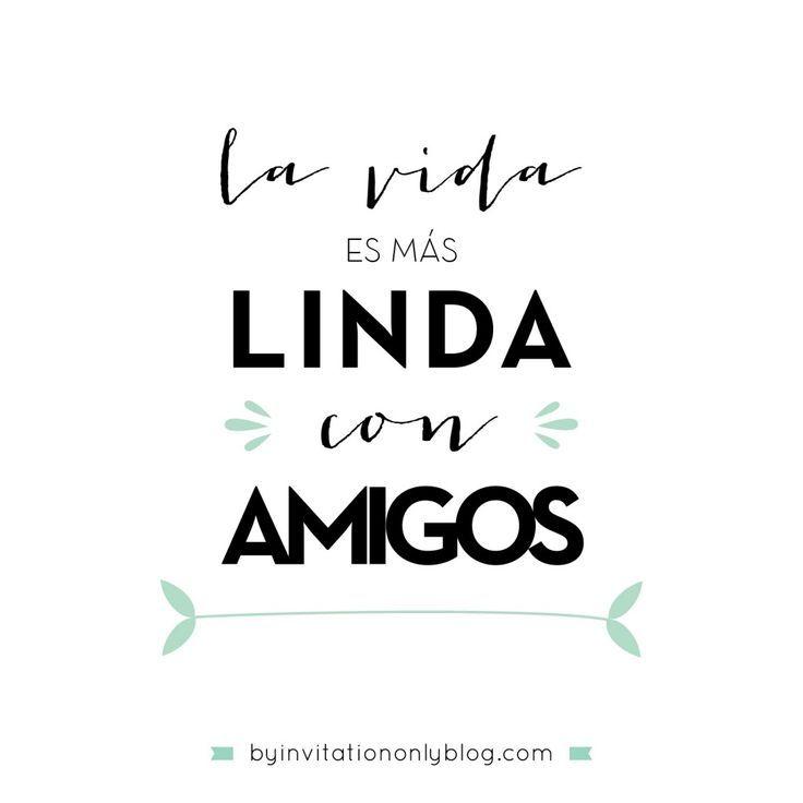 By Invitation Only | {inspirational Monday} Ideas para celebrar el Dia del Amigo | http://byinvitationonlyblog.com: