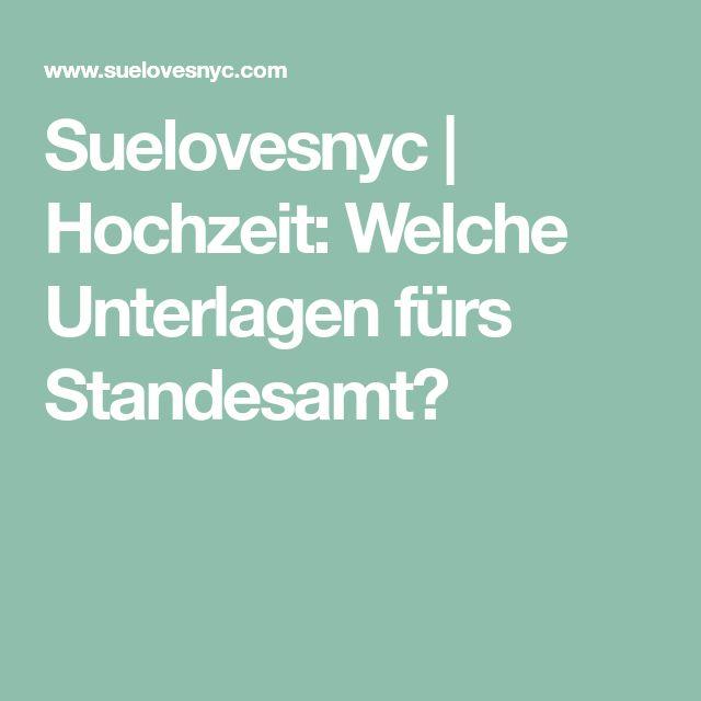 Suelovesnyc   Hochzeit: Welche Unterlagen fürs Standesamt?