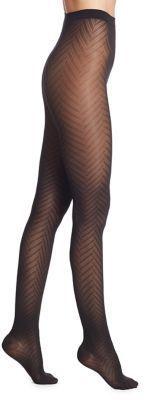Wolford Rhoda Herringbone Leg Support Tights