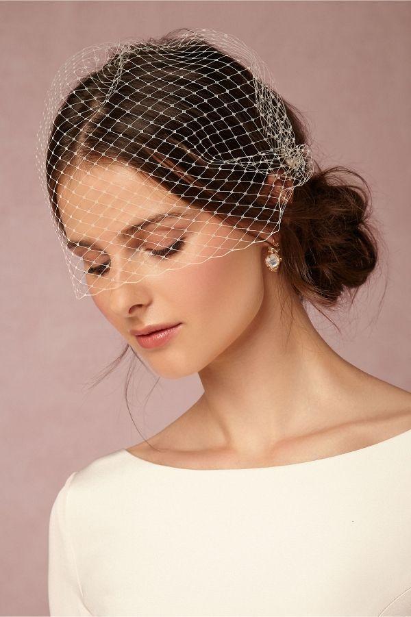 Elodie Birdcage Veil Veil Hairstyles Short Veil Bride Veil