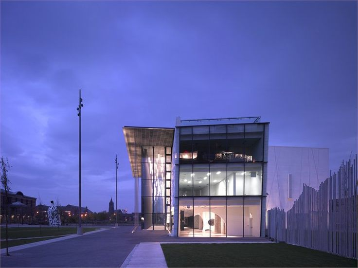 MIMA - Middlesbrough Institute of Modern Art - Middlesbrough, Великобритания - 2007 - Designed by Erick van Egeraat