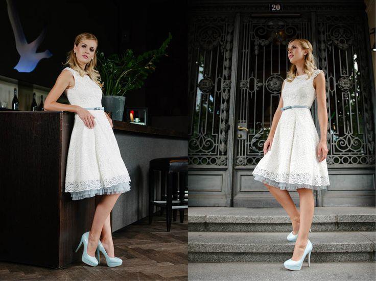 kurze brautkleider 50er jahre petticoat middot kuess die braut brautkleid