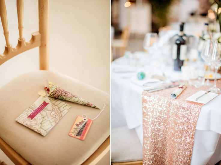 A Blush Pink and Gold, Romantic Travel Inspired Wedding | Love My Dress® UK Wedding Blog