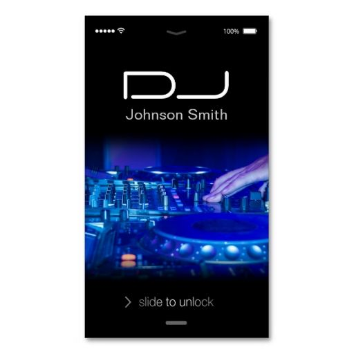 the 25 best dj business cards ideas on pinterest free business