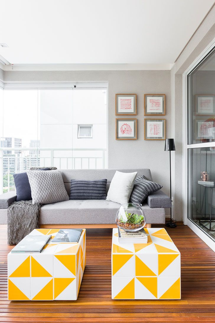 Small bright apartment in Brazil (55 sqm) | PUFIK. Beautiful Interiors. Online Magazine