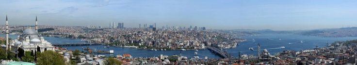 İstanbul Üniversitesi - Beyazıt Yangın Kulesi'nden 180 derece İstanbul - Fotoğraf: Zübeyir Süğlün