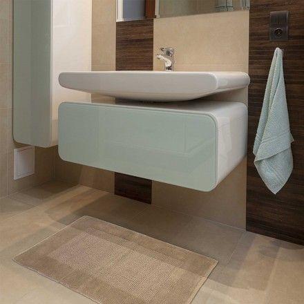 Passadeira Banheiro Sublime - Fendi 0,60m x 1,00m - Kapazi