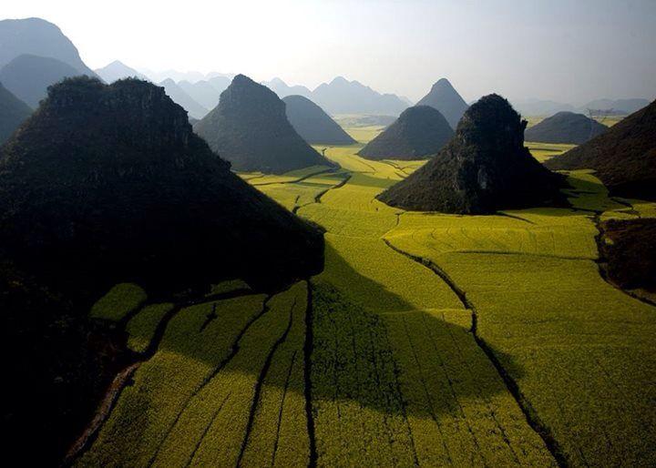 Chocolate Hills, China